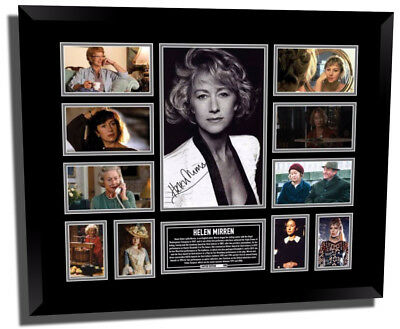Helen Mirren Signed Limited Edition Framed Memorabilia