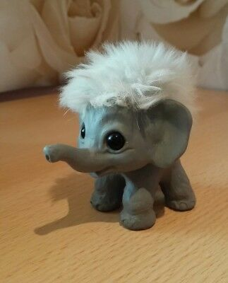 Rauls troll elephant retro vintage collectable uglies plastech