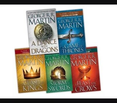 Game Of Thrones Complete Book Set And Audio 1 - 5 *instant Download* Pdf M4B Mp3