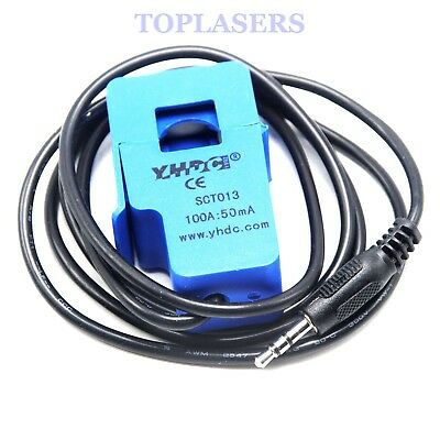 AC current sensor 100A Non-invasive Split Core Current Transformer SCT-013-000