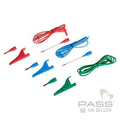 Genuine Megger Fused 10A Test Leads (for LT/RCDT/LRCD Series Loop Testers) / UK