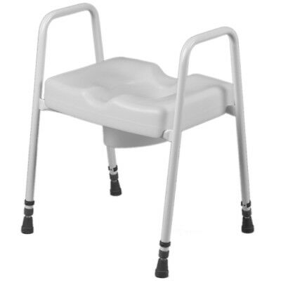 Mobility Raised Toilet Seat Support Frame Adjustable