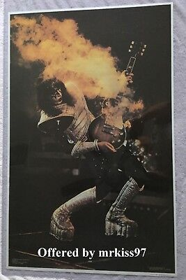KISS Vintage Ace Alive II Poster Original 1977 Boutwell Aucoin Exc Condition OOP