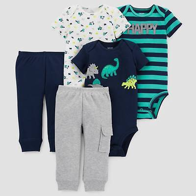 Baby Boys' 5pc Dino Bundle - Just One You™ Made by Carter's® Navy
