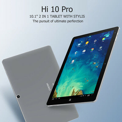 4/64GB 10.1'' CHUWI Hi10 Pro Win10 + Android 5.1 Tablet PC HDMI 2 in 1 Tableta