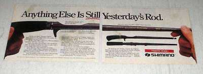 1987 Shimano Magnumlite XL 1552 Fightin' Rod Ad