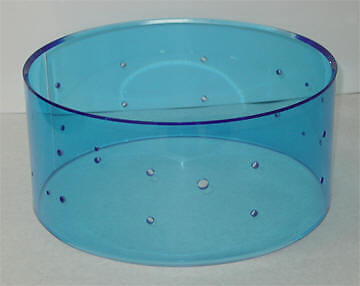 New RCI 6.5x14 70s Vistalite Replacement Snare Shell