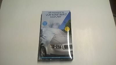 Perfect Solutions Blizzard Basics All-Season Windshield Cover - Securely Covers
