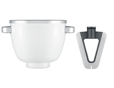 Sage by Heston Blumenthal FREEZE & MIX Ice Cream Bowl + Paddle Mixer Attachment