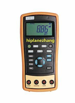 Hi-accuracy 0.05% Current & Voltage Process Calibrator with Frequency Source