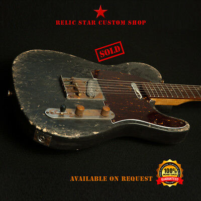 RELIC STAR Custom Shop T-ROAD telecaster mod.