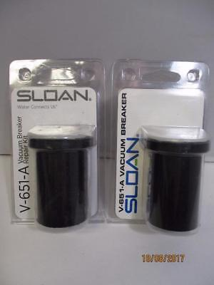 (Lot of 2) Sloan Vacuum Breaker V-651-A