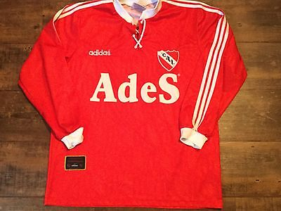1996 CA Independiente L/s Football Shirt Adults Large Argentina Camiseta