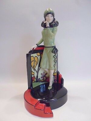 Rare Kevin Francis  Ltd. Ed. Hand Painted Figurine 'clarice Cliff Centre Stage'