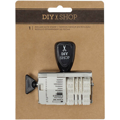 Diy Shop 4 Rotary Date Stamp Gold 376322