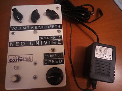 Costalab Neo Univibe Uni Vibe Boutique Pedal With Buffer (Gilmour)