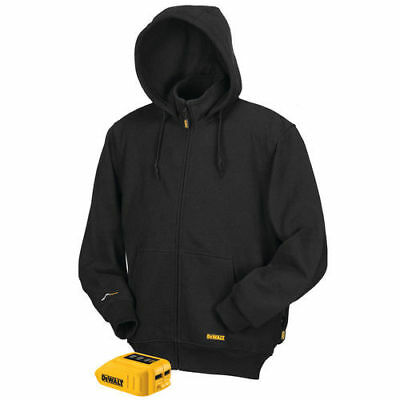 DEWALT 12V/20V MAX Li-Ion Black Heated Hoodie Only - M DCHJ067B-M New