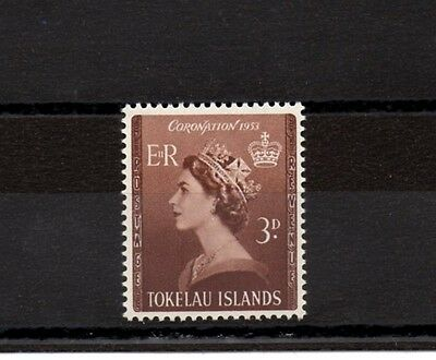 Tokelau 1953 Coronation MNH set