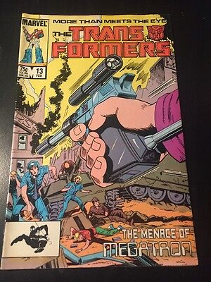 Transformers#13 Incredible Condition 9.0(1986) Cool!!