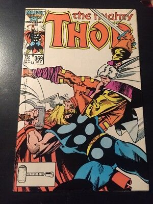 Mighty Thor#369 Incredible Condition 9.4(1986) Balder,Simonson Cover!!