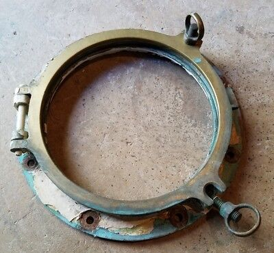 Arctic Discoverer, Brass porthole (No Glass), SS Central America, Artifact!