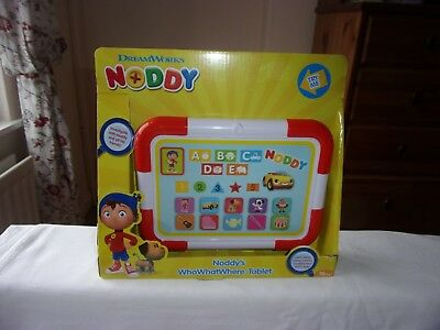 Noddy - WhoWhatWhere Tablet - BRAND NEW