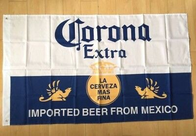 Famous Man Cave Corona Extra Banner Flag imported beer from Mexico