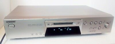 Sony MDS-JE480 MiniDisc Recorder Player Silver Excellent Order