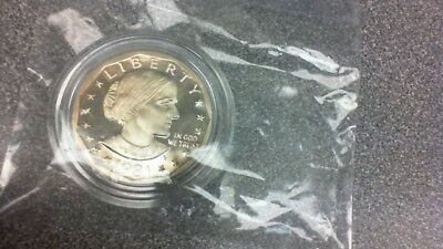 1981 S Type Ii 2 Proof Susan B Anthony Dollar Type 2 Ii - A Rare Need To Own