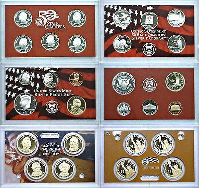 2008-S 14 Coin Silver Proof Set OGP W/COA