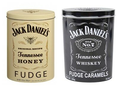 Jack Daniel's Tennessee Whiskey / Honey Fudge Gardiners Scotland  300g Gift Tin