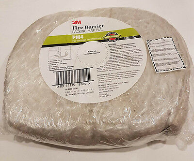 3M Fire Barrier Packing Material PM4 for Penetrations 4in x 20.5ft