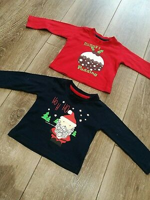 Christmas tops age 0-3 / 3-6 months