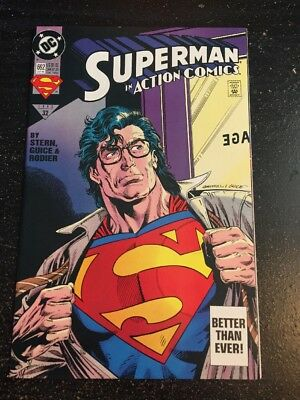 Action Comics#692 Incredible Condition 9.4(1993) Gammill Cover!!