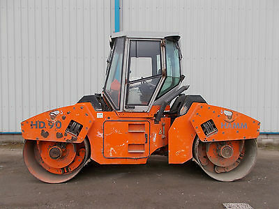 Hamm HD90 vibrating roller delivery available ride on like bomag terex benford