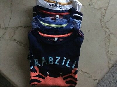 boys  age 5 /6 joules t shirts