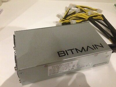 Power 2x L3+s and S9s with this Bitmain APW3++ 1600W PSU/18 PCI-e Connectors LTC