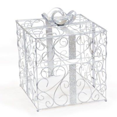 Cathy's Concepts Reception Gift Card Holder, Silver