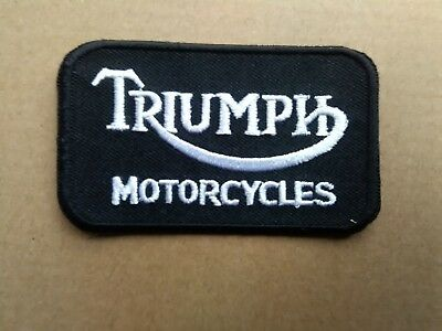 Triumph Motorcycles Sew Or Stick On  Patch