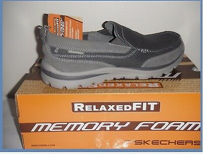 655a8a1482dc Skechers Relaxed Fit Superior Milford Men s Slip-On Casual Shoes Size 8
