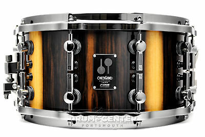 Sonor One of a Kind Snare Drum Black Chacate 14x7 - Video Demo