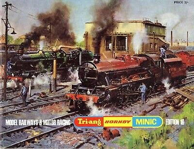 Triang-Hornby-Minic Model Railways & Motor Racing Catalogue Edition 16 1970