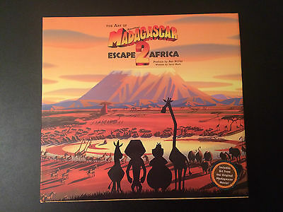 Art of Dreamworks Madagascar: Escape 2 Africa (Hardcover) - Signed by Directors