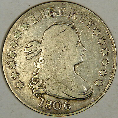1806 Draped Bust Quarter - Nice Fine - Priced Right!