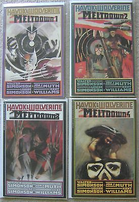 Havok & Wolverine Meltdown #1-4 Epic Comics Nm Unread Prestige Format Complete