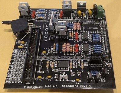 Speeduino 0.4.4 FULLY ASSEMBLED ECU Engine Management Arduino Megasquirt  - UK
