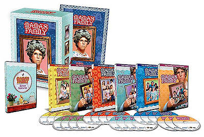 Mama's Family- The Complete Series Collection 24-Disc Seasons 1-6 Brand New DVD