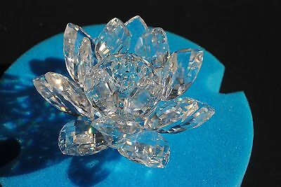 Swarovski Crystal Water Lily Candle Holders