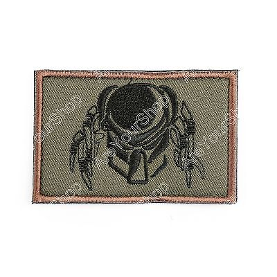 Predator PATCH ARMY MORALE TACTICAL MORALE BADGE PATCH #E