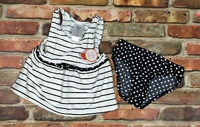Carter's Toddler Girls 2pc Just one you Tankini Swimsuit Set Size 2T UPF 50+